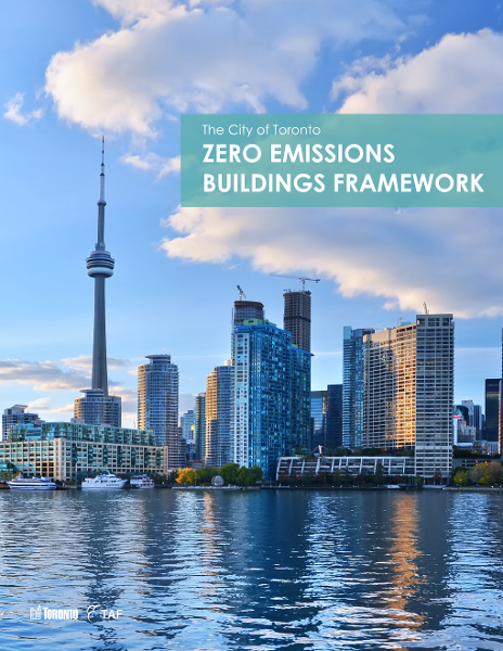 Cover from Zero Emissions Buildings Framework Report.png